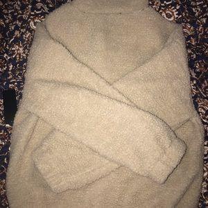 Ambiance Jackets & Coats - Tan Teddy Coat